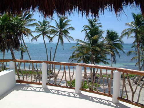 Cazona Palms view of sea