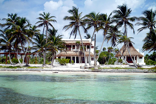 Costa Maya Beach front home