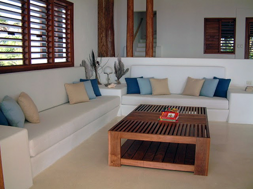 Casona Palms living room - extra sleeping space