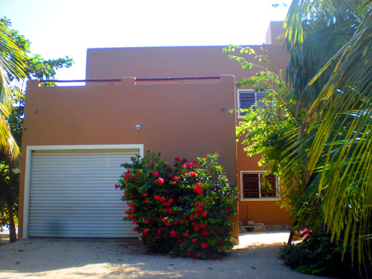 Road side view of Casa Dia