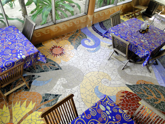 Mosaic Dining room