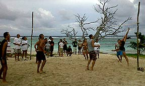 Mahahual Beach Volleyball