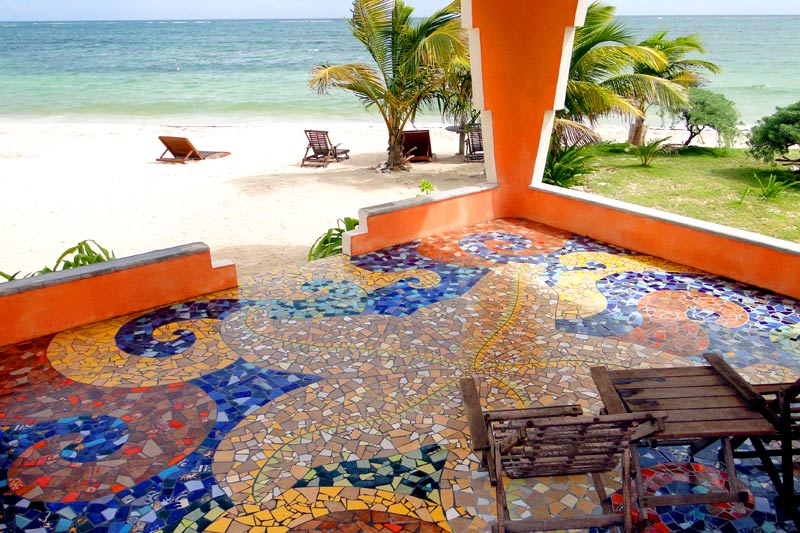 Beachfront King terrace Mosaic